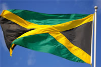 The Jamaica National Flag
